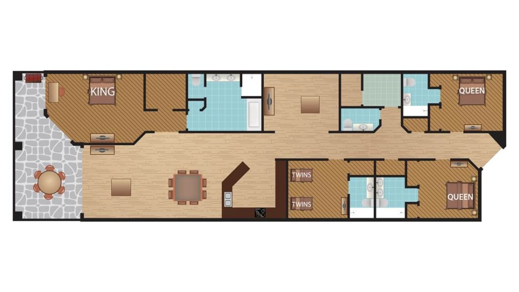 seabreeze floor plan